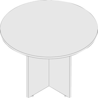 Table de réunion ronde